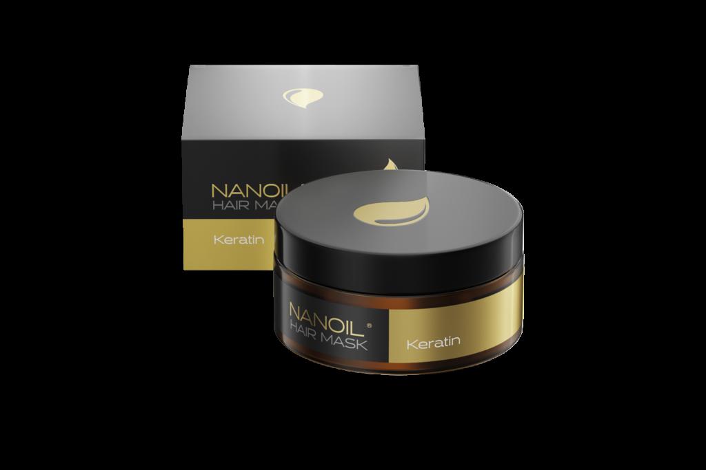 Complete hair repair treatment with Nanoil Keratin Hair Mask